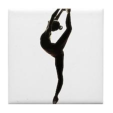 Ballet Dance Tile Coaster
