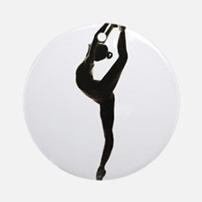 Ballet Dance Round Ornament