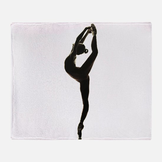 Ballet Dance Throw Blanket