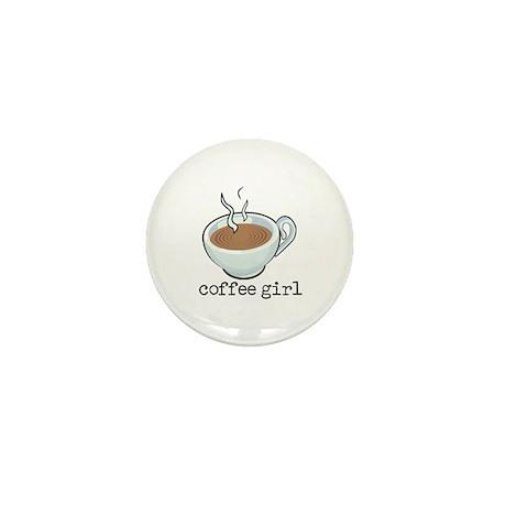 Coffee Girl Mini Button (10 pack)