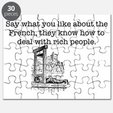 French Rich People Puzzle
