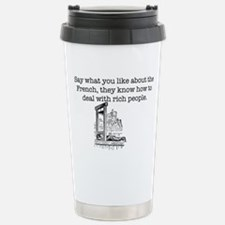 French Rich People Travel Mug
