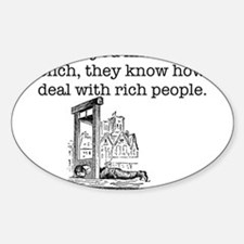 French Rich People Decal