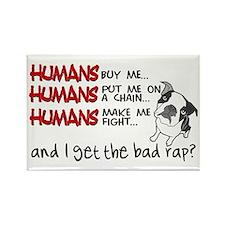 I Get the Bad Rap? Rectangle Magnet