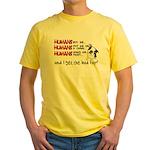 I Get the Bad Rap? Yellow T-Shirt