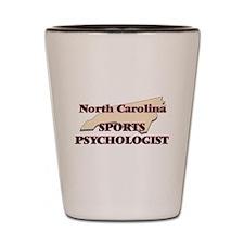 North Carolina Sports Psychologist Shot Glass