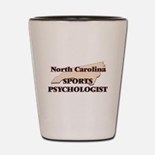 North Carolina Sports Psychologist Shot Glass