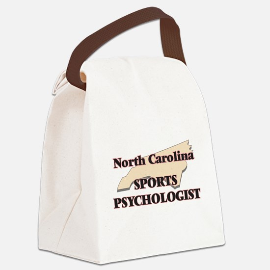 North Carolina Sports Psychologis Canvas Lunch Bag