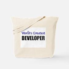Worlds Greatest DEVELOPER Tote Bag