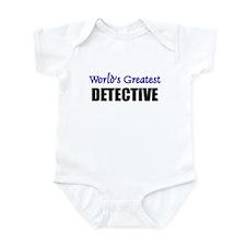 Worlds Greatest DETECTIVE Infant Bodysuit