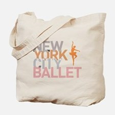 Cute Dance ballet Tote Bag