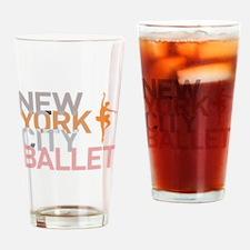 Cute Ballet bears Drinking Glass