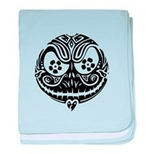 Jack Scarry Face baby blanket
