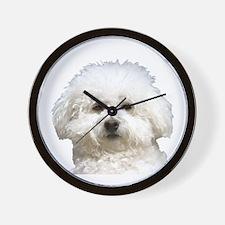 Fifi the Bichon Frise Wall Clock