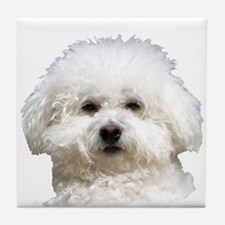 Fifi the Bichon Frise Tile Coaster