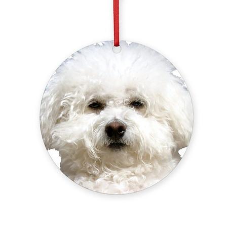 Fifi the Bichon Frise Ornament (Round)