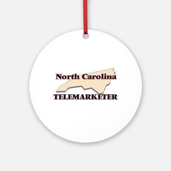North Carolina Telemarketer Round Ornament