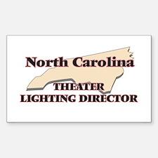 North Carolina Theater Lighting Director Decal