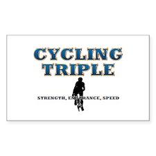 TOP Cycling Slogan Decal