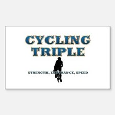 TOP Cycling Slogan Decal