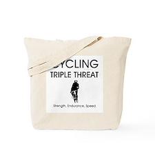 TOP Cycling Slogan Tote Bag