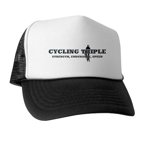 TOP Cycling Slogan Trucker Hat