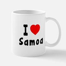 I Love Samoa Mug