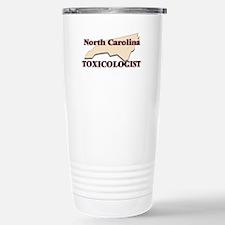 North Carolina Toxicolo Stainless Steel Travel Mug