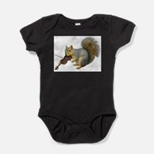Cool Squirrel Baby Bodysuit