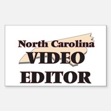 North Carolina Video Editor Decal