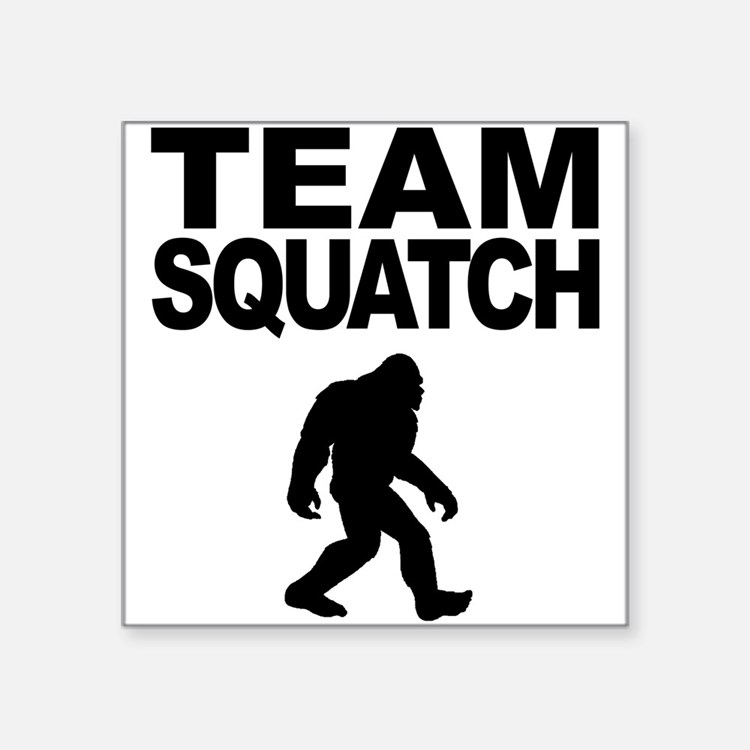 Team Squatch Sticker