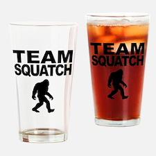 Team Squatch Drinking Glass