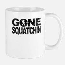 Gone Squatchin (Distressed) Mugs