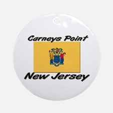 Carneys Point New Jersey Ornament (Round)