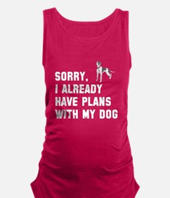 Cute Sorry for partying Maternity Tank Top