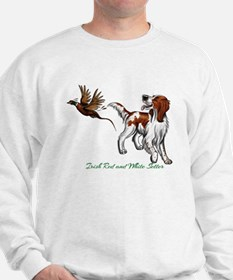 Cute Irish red setter Sweatshirt