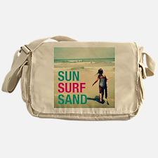 Sun, Surf, Sand Messenger Bag