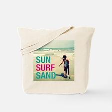Sun, Surf, Sand Tote Bag