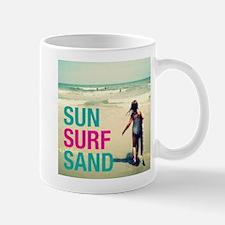 Sun, Surf, Sand Mugs