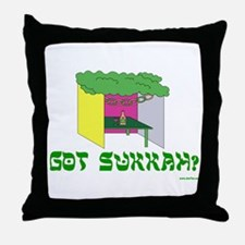 Jewish Holiday Got Sukkah Throw Pillow