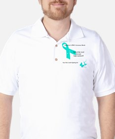 PCOS Awareness Golf Shirt