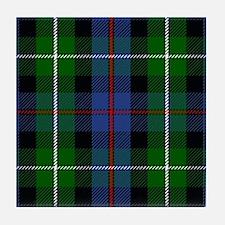 MacKenzie Scottish Tartan Tile Coaster