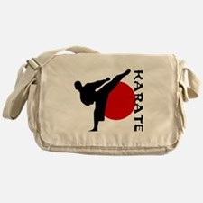 Karate Messenger Bag