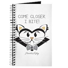 Come Closer. I Bite! - HeartKitty Journal