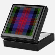 MacLennan Scottish Tartan Keepsake Box