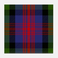 MacLennan Scottish Tartan Tile Coaster