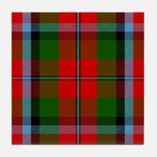 MacNaughton Scottish Tartan Tile Coaster