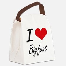 I love Bigfoot Canvas Lunch Bag