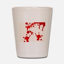 Blood Splatter Shot Glass