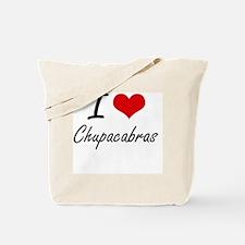 I love Chupacabras Tote Bag
